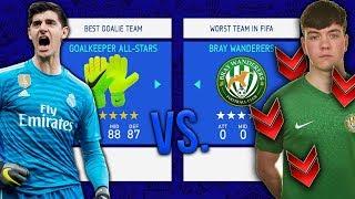 Goalkeeper ALL-STARS vs. WORST TEAM IN FIFA!! - FIFA 19 Career Mode