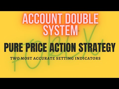 BEST SYSTEM ACCOUNT DOUBLE    FOREX PRICE ACTION STRATEGY    TRADE LIKE A PRO