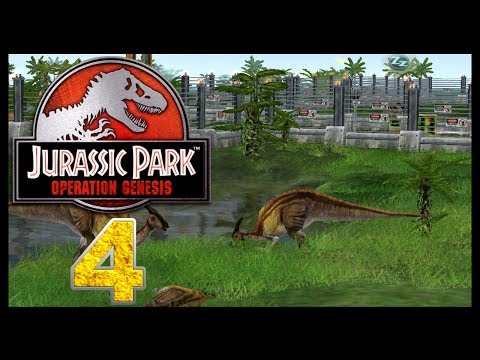 Jurassic Park: Operation Genesis - Episode 4 - We love dinosaurs!