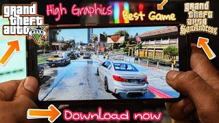 GTA 5 The Most Realistic Graphics Android Game | GTA SA Lite | 2018