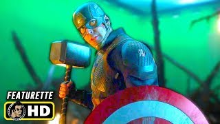 AVENGERS: ENDGAME (2019) Behind the Scenes Featurettes [HD] Extended Making Of