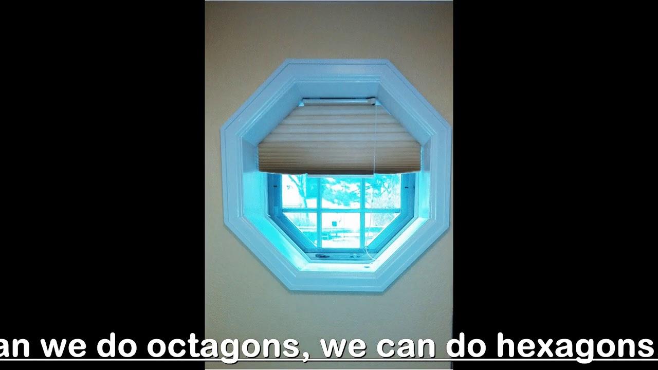 Hunter Douglas Octagon Honeycomb Shades