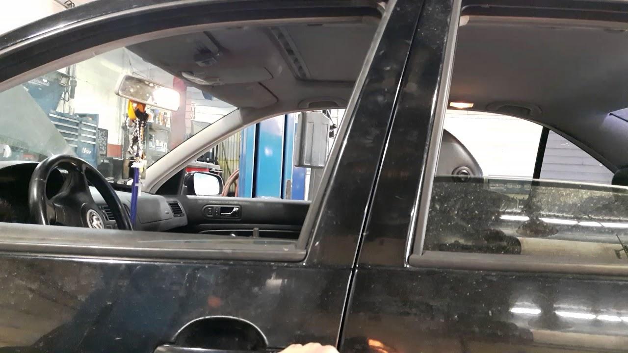 VW JETTA WINDOW HACK