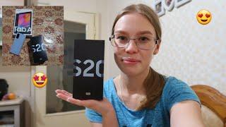Новый уход за волосами Теперь у меня SAMSUNG S20 Купила новый телефончик