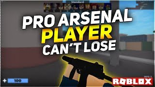 Pro Arsenal Player Can't Lose (Roblox Arsenal Gameplay)