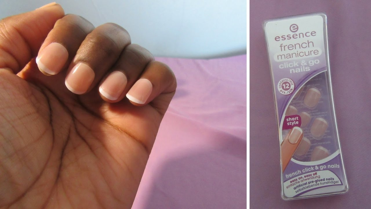 Essence Click Go Nails
