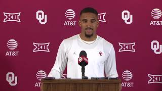 OU Football: Jalen Hurts press conference, talking Baylor, TCU