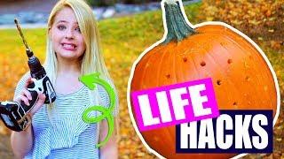 Halloween Life Hacks and DIYS!