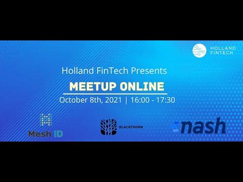 Holland Fintech Online Meetup October