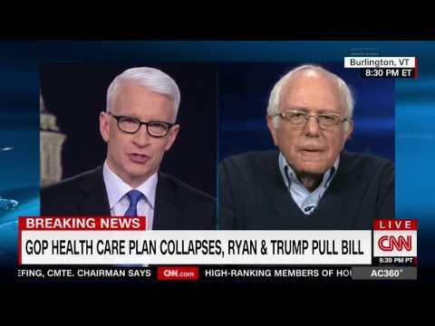 Bernie Sanders: Dems should get credit for killing ACHA / GOP Health Care Plan #Sanders #ACHA #trump