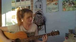 Dashboard Confessional - Hell On the Throat (acoustic cover Liz)