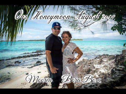 Loyola Honeymoon: Moorea & Bora Bora 2015