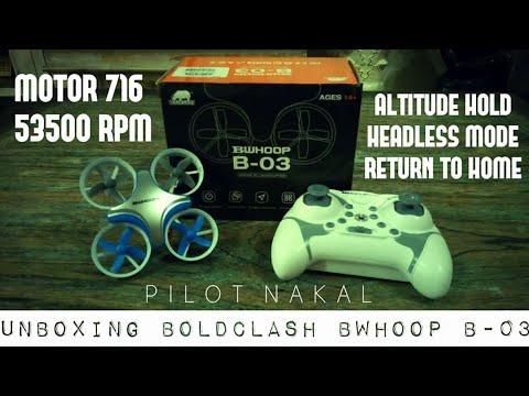 BoldClash Bwhoop B06 77mm RC Quadcopter Spare Part Main Frame Black