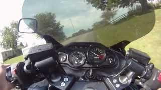 Zx11 Ninja test ride