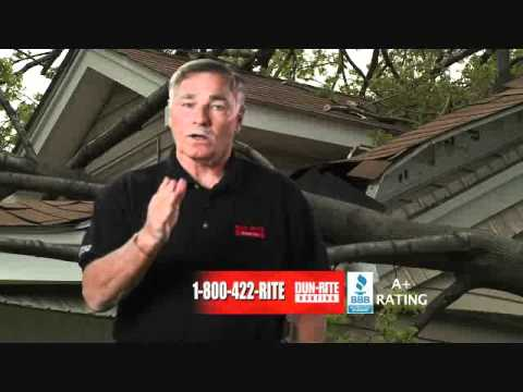 DunRite Roofing Storm Commercial with Doug Dieken