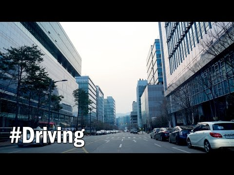 'Pan-gyo' Techno Valley(called 'Silicon Valley of Korea'), South Korea : Driving Downtown [판교테크노밸리]