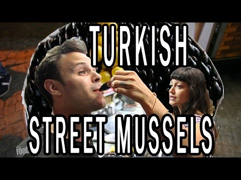 Turkish Street Food and High Class Dumplings in Istanbul