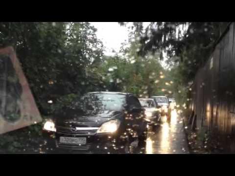 Выезд из Первомайского в Ивантеевку