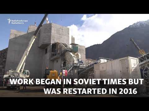 Tajikistan Inaugurates Mega Dam