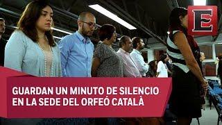 Comunidad catalana de México se solidariza con víctimas de atentado