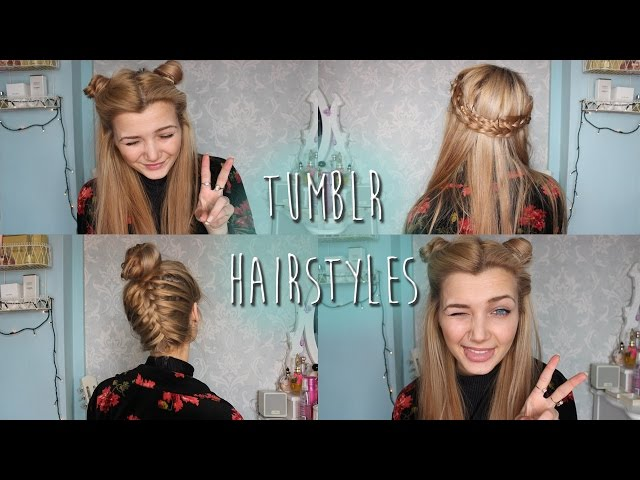 7 Tumblr Inspired Hairstyle Tutorials Youll Adore