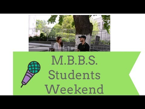 M.B.B.S. in Ukraine / Study all weekend?