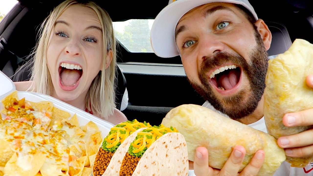 CARLY'S FIRST TIME ON THE MUKBANGS!! ULTIMATE MEXICAN FIESTA!