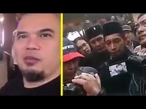"""Dikatain """"IDI0T"""", Banser pr0tes dan minta Ahmad Dhani segera minta maaf"""
