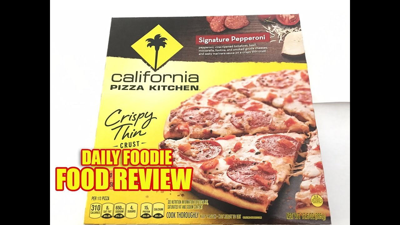 California Pizza Kitchen Pepperoni Pizza California Pizza Kitchen Review  Signature Pepperoni Crispy Thin