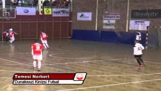 Dunakeszi Kinizsi Futsal Klub - 2013 Férfi NB I-es góljai