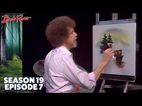 Bob Ross - Covered Bridge Oval (Season 19 Episode 7)