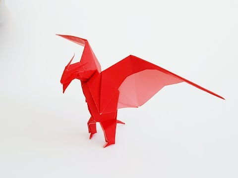 How to Make an Origami Monster, Rodan | LuisCraft