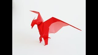 How to Make an Origami Monster, Rodan | LuisCraft