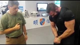 Test of ESP textile handcuffs