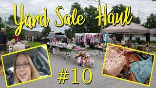 Yard Sale HAUL! $350 Coach Purse for $25! + Sephora Makeup & Vintage Items!