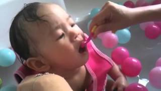 Brushing Teeth For Baby