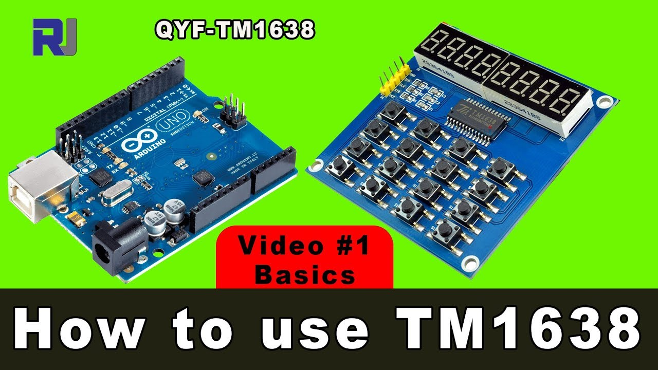 How to use TM1638 4 digit display (QYF) with code