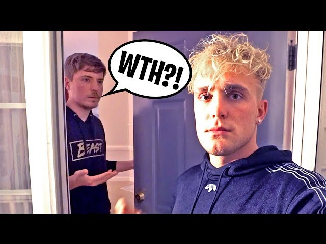 I Flew To MrBeast's House & Knocked On His Door