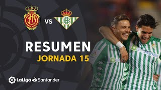 Highlights RCD Mallorca vs Real Betis (1-2)