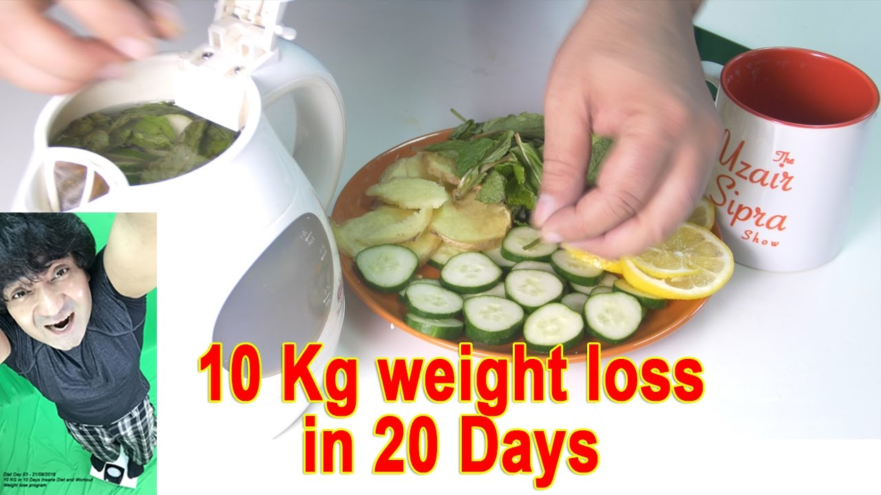 How i lose my weight in 10 days