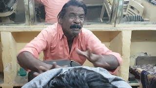 Baba Sen the Cosmic Barber relaxing head massage
