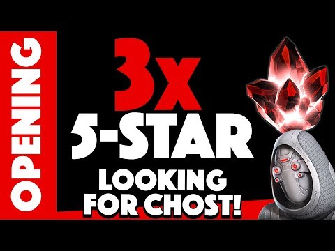 Looking For GHOST! 3x Five Star Crystal Opening!