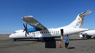 Bahamasair ATR 42-600 landing in Nassau  -  Lynden Pindling Int'l