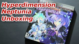 UNBOXING: Hyperdimension Neptunia Limited Edition PS3