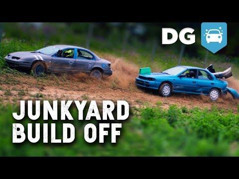 Junkyard Build Off & Thrash Race! (ft. Shifted Interests)