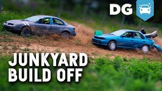 Junkyard Build Off & Thrash Race! (ft. Shifted Interests)