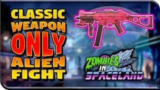 "CLASSIC WEAPON ONLY ""ALIEN BOSS FIGHT"" EASTER EGG - Zombies In Spaceland (Infinite Warfare Zombies)"