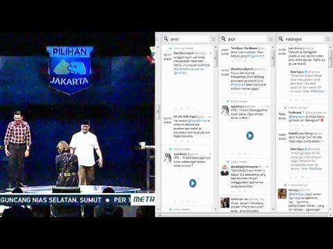 Timeline Twitter Saat Mata Najwa Eksklusif, Babak Final Pilkada Jakarta
