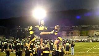 Panther Valley Varsity Cheerleading Kick Twist Pyramid.MP4