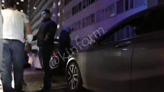 В ходе конфликта разбили стекло в авто на Усольцева